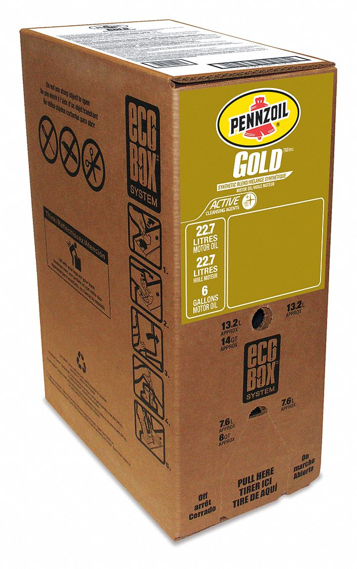 Syn Oil Pennzoil Motor Oil Syn B 5w 30 Eco Box 22 7l Engine And Motor
