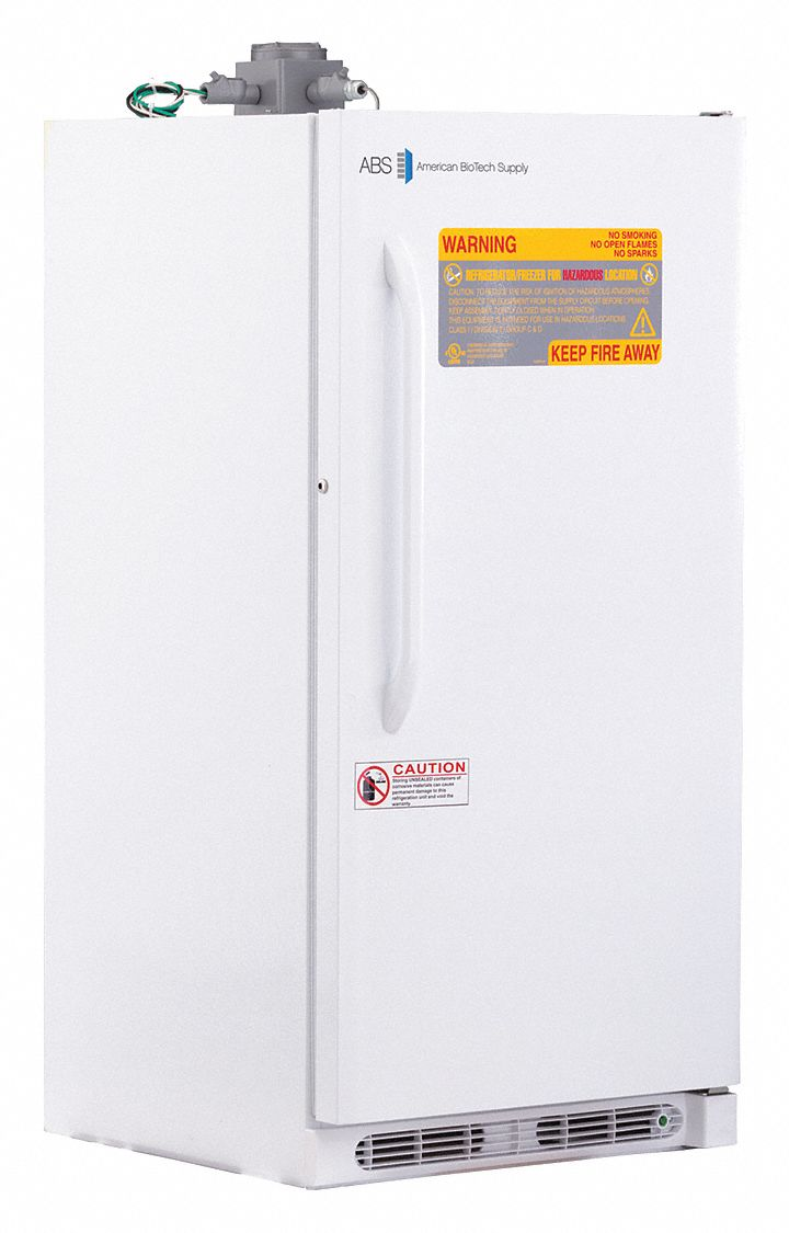 14 Cu Ft Refrigerator Upright Refrigerator Flammable Liquid Cycle Defrost