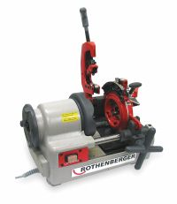 ROTHENBERGER Pipe Threading Machine,1/2 to 2 In