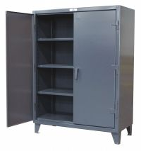"STRONG HOLD Heavy Duty Storage Cabinet, Dark Gray, 78"" H X ..."