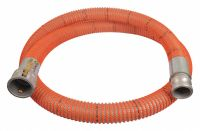 GRAINGER APPROVED 20 ft. Clear and Orange Water Suction ...