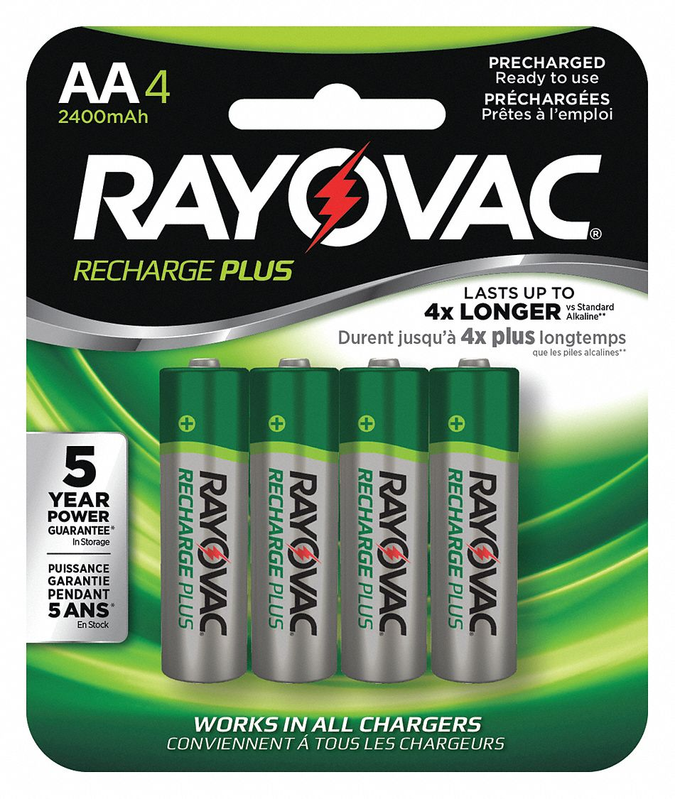 Pile Aa Rechargeable Aa Pre Charged Rechargeable Battery Recharge Nickel Metal Hydride Pk4