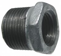 GRAINGER APPROVED Galvanized Malleable Iron Hex Bushing, 3 ...