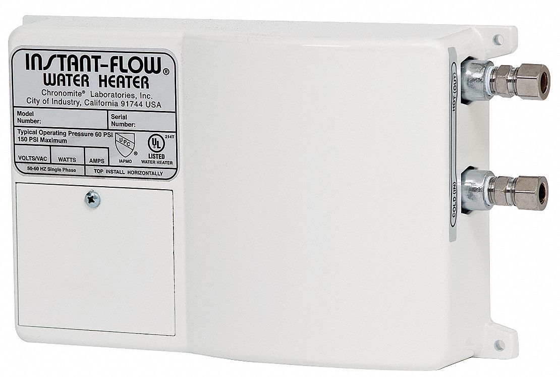 Chronomite Labs 120v Undersink Electric Tankless Water