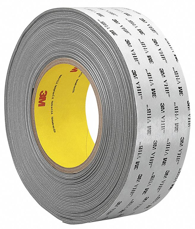 3m Vhb Tape Canada 3m Vhb Tape 1 In X 18 Yd Gray Double Sided Tapes Wwg15c822