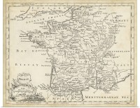 Poster Print Wall Art entitled Map of France | eBay