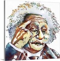 Albert Einstein Wall Art, Canvas Prints, Framed Prints ...