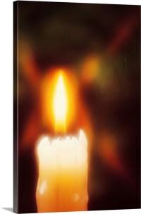 Lit candle Wall Art, Canvas Prints, Framed Prints, Wall ...