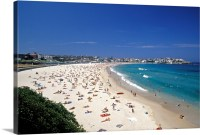 Bondi Beach, Sydney, Australia Wall Art, Canvas Prints ...