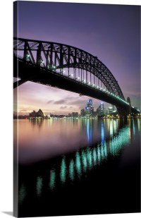 Harbor Bridge Sydney Australia Wall Art, Canvas Prints ...