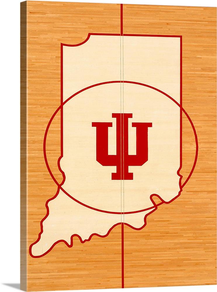 Indiana University Wall Art - Elitflat
