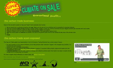 Hackers shut down EU carbon-trading website