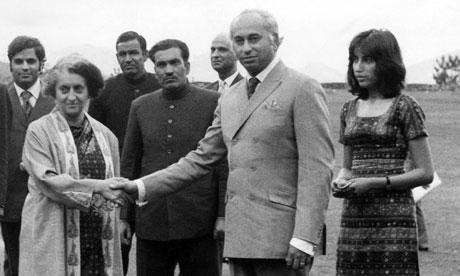 Indira Gandhi, Zulfikar Ali Bhutto and Benazir Bhutto