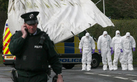 Antrim shooting terrorism Massereene barracks