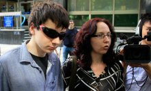 Suspected hacker Jake Davis leaves court after being released on bail