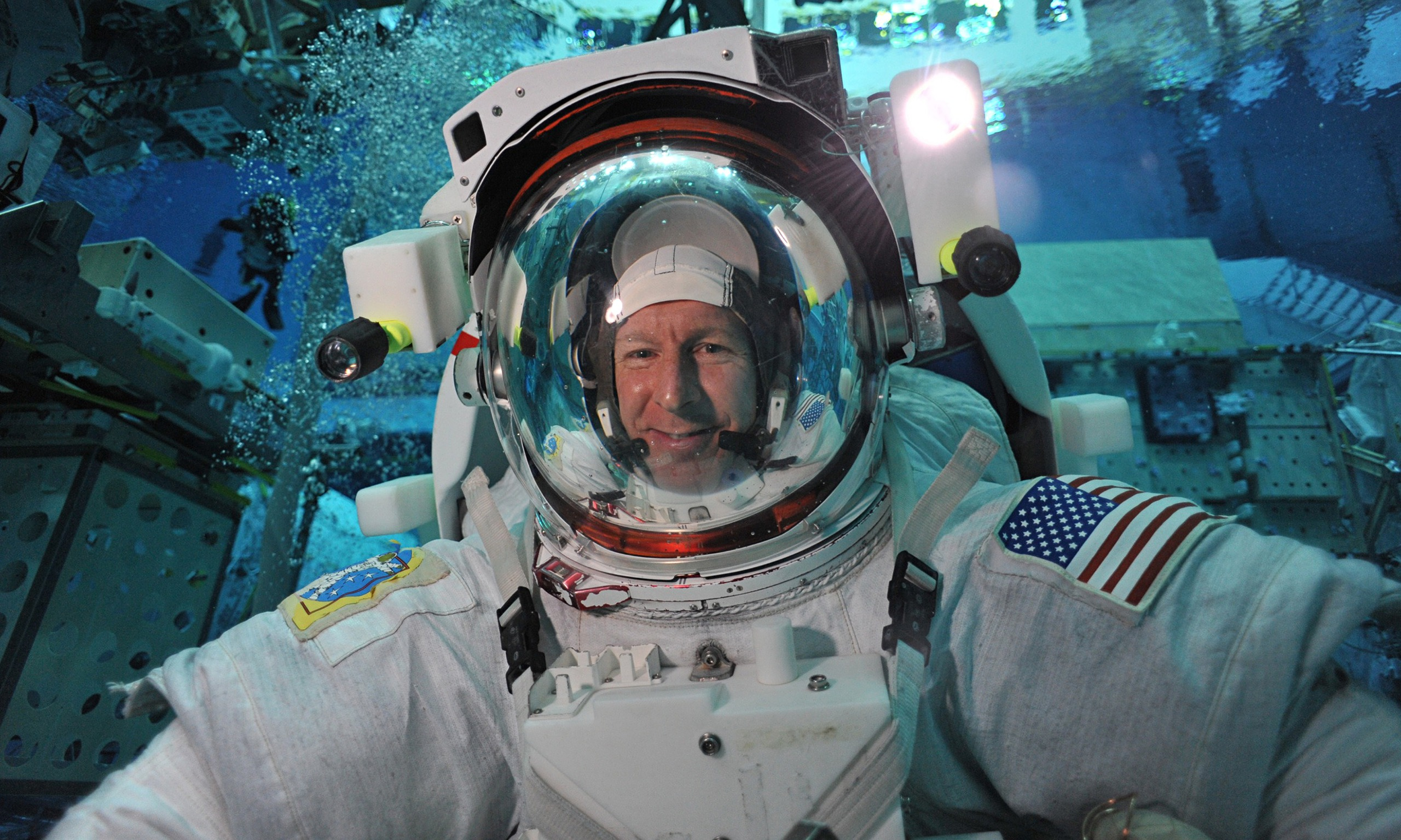 Hogan Uk First British Man In Space: 'we Phone People Because It's