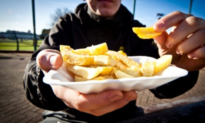Chips … where do you eat yours?