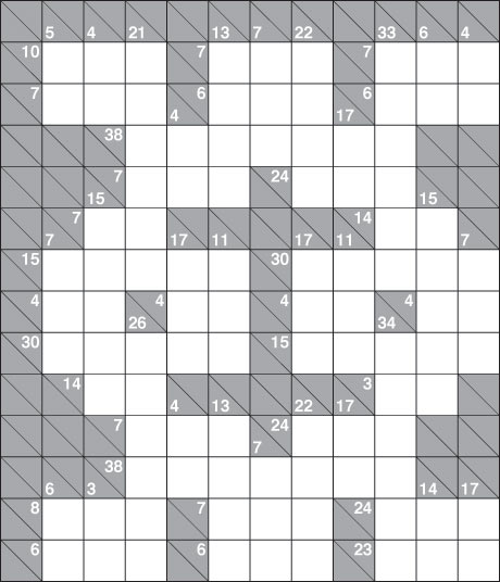 Completed Kakuro Puzzles Pics Download