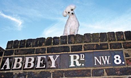eggy outside Abbey Road Studios