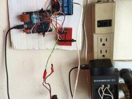 Arduino openHAB Garage Door Control