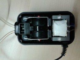 Aquarium Air Pump -> Vacuum