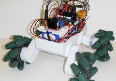 Mecanum Wheeled Rover 5