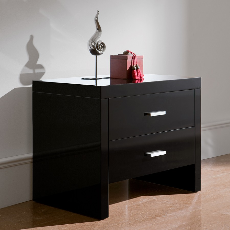 Table De Chevet Noir Ikea Table Chevet Noire