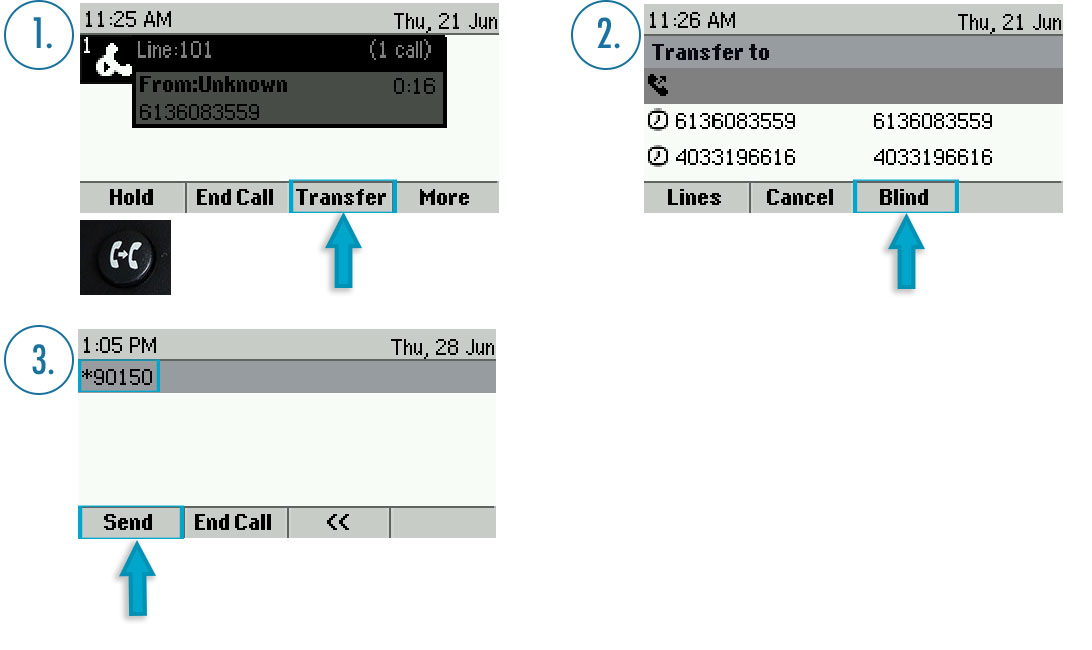 Versature \u2014 HOW TO TRANSFER CALLS DIRECTLY TO VOICEMAIL - VVX 300