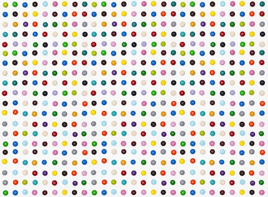 Damien Hirst Spot Paintings In M M S By Henry Hargreaves