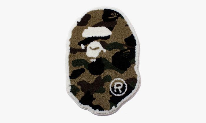 Fall Rug Wallpaper Bape 1st Camo Ape Head Rug Highsnobiety