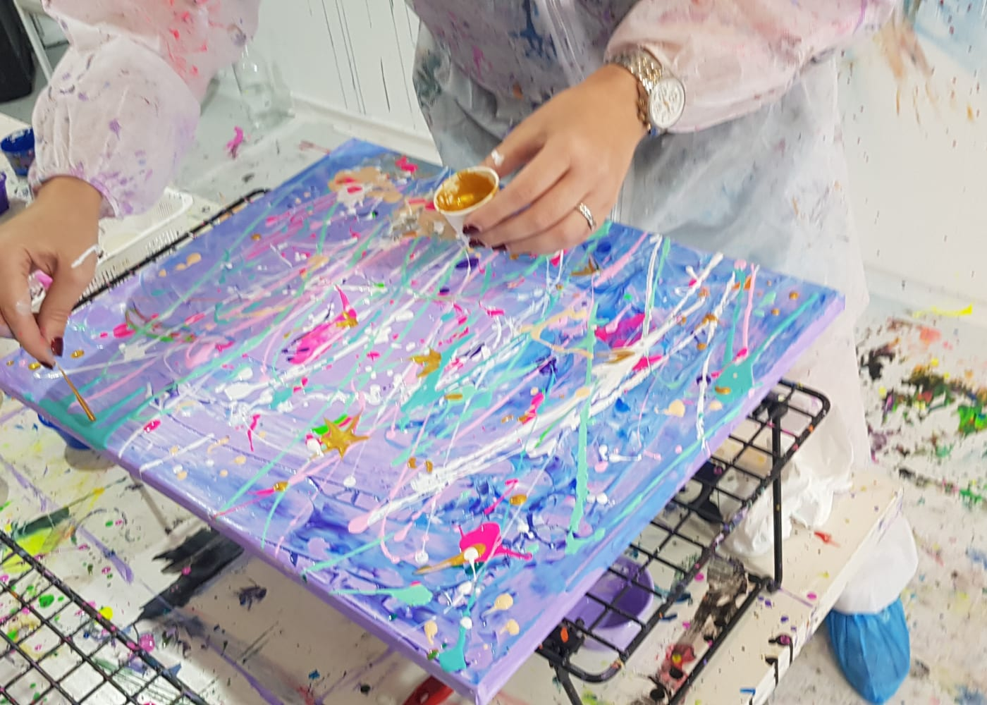 Splat Paint House Messy Family Fun With Paint Honeykids Asia