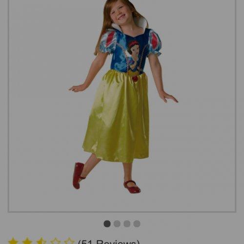 Cheap Fancy Dress Snow White Belle Tiana 699 Argos