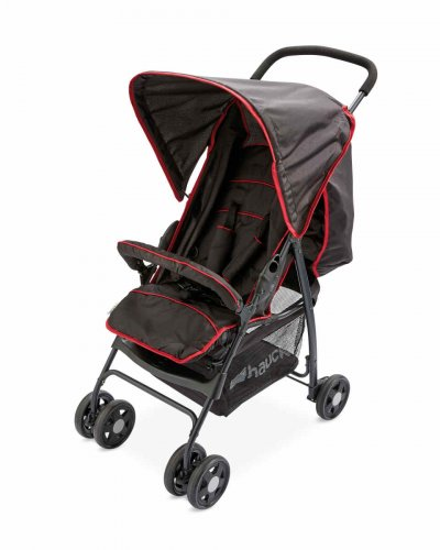 Hauck Buggy In Aldi Black Red Sport Buggy £25 99 Aldi In Store Or Free