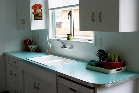 Attic Windows Laminate Kitchen Countertops | Kitchen Remodeling Tips