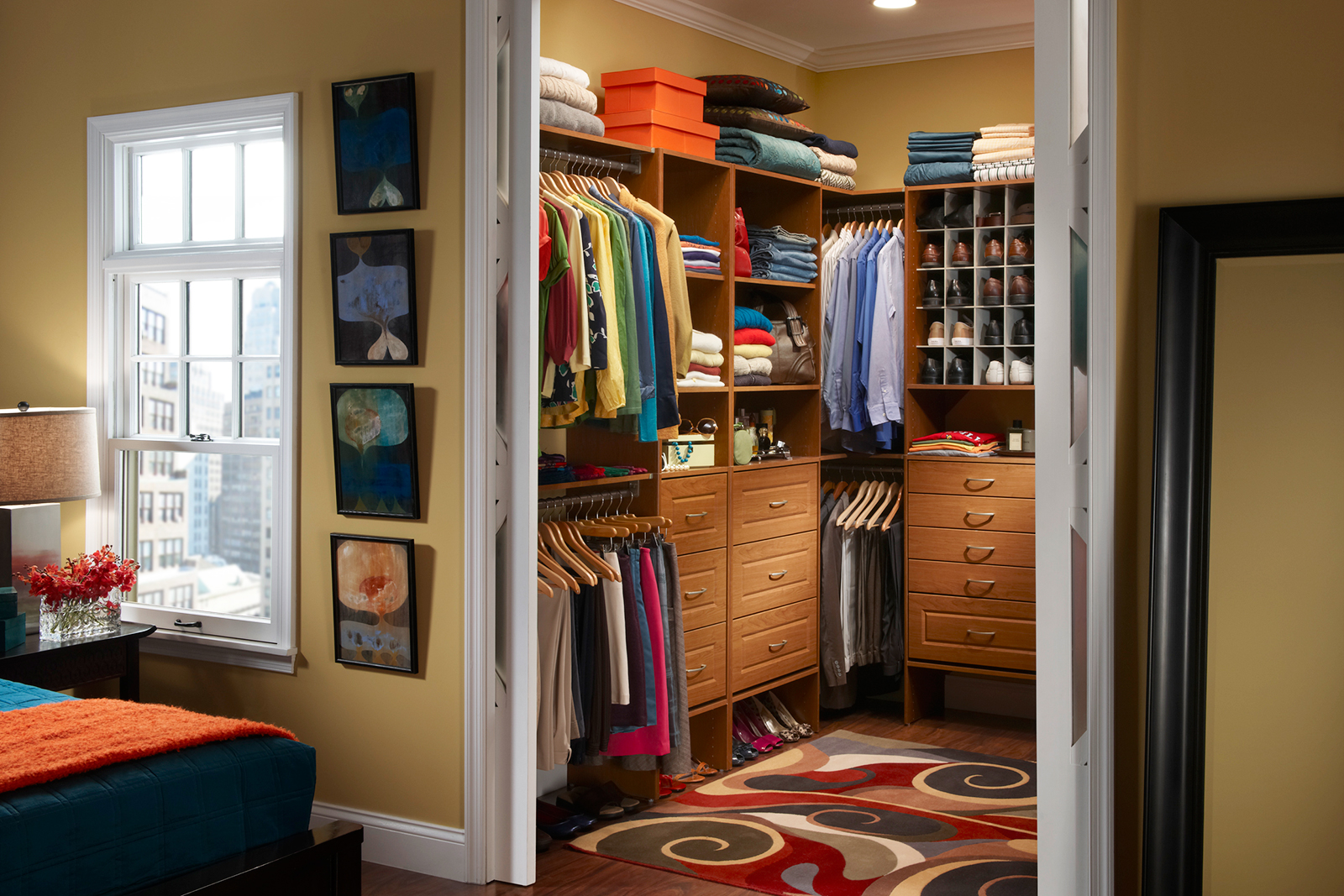 Walk In Closet Organization Ideas Master Closet Layout Organizing Your Master Closet