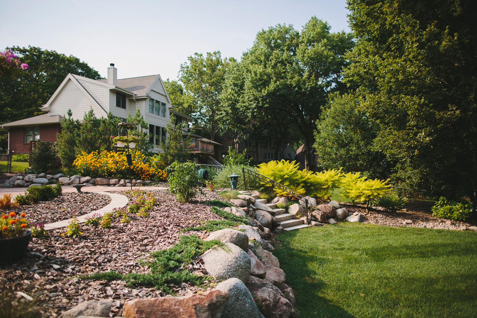 High Spring Landscaping Ideas Garden Ideas Houselogic Backyard Landscapes outdoor Great Backyard Landscaping
