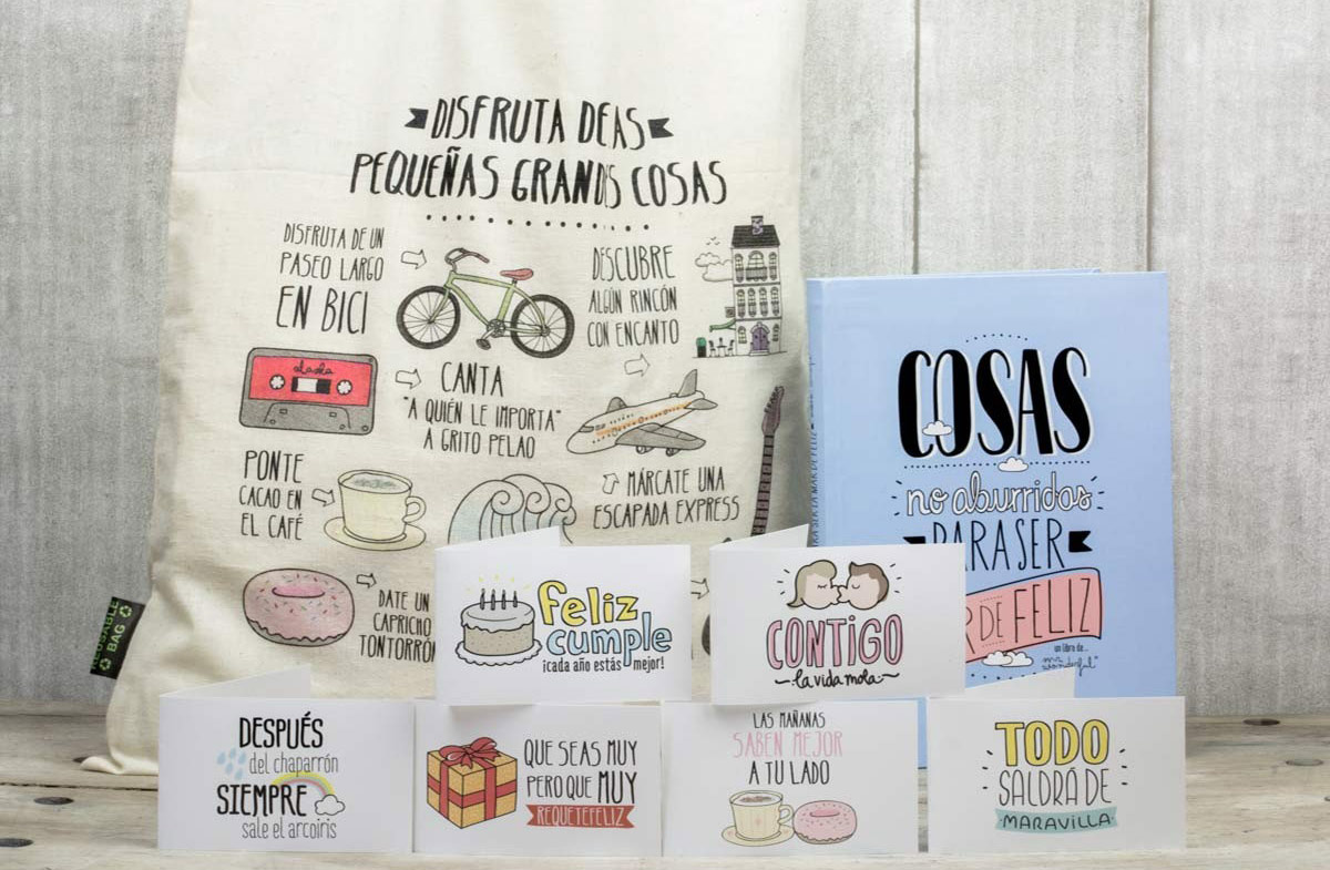 Cosas De Mr Wonderful Kit Para Ser Feliz Como Una Perdiz De Mr Wonderful
