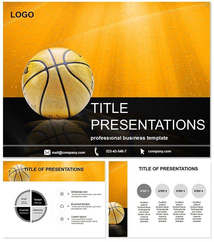 Sports ball PowerPoint template ImagineLayout