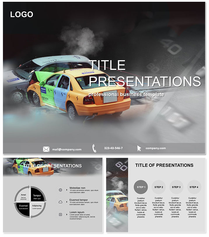 Test Safety PowerPoint Template ImagineLayout