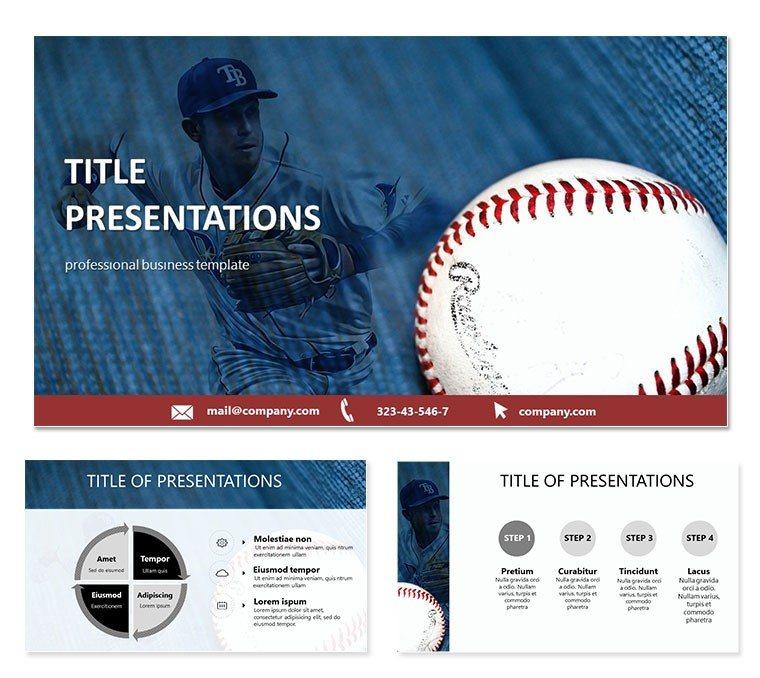 Baseball Card PowerPoint templates ImagineLayout
