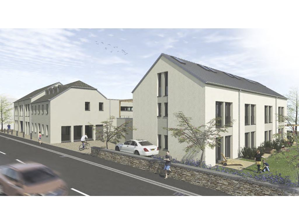 Frederic Keller Architecte D'intérieur Terraced House 3 Rooms For Sale In Niederanven Luxembourg Ref