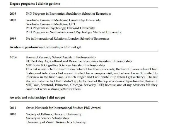 How To Create A Cv Demcjobs A Princeton Psychology Professor Has Posted His Cv Of