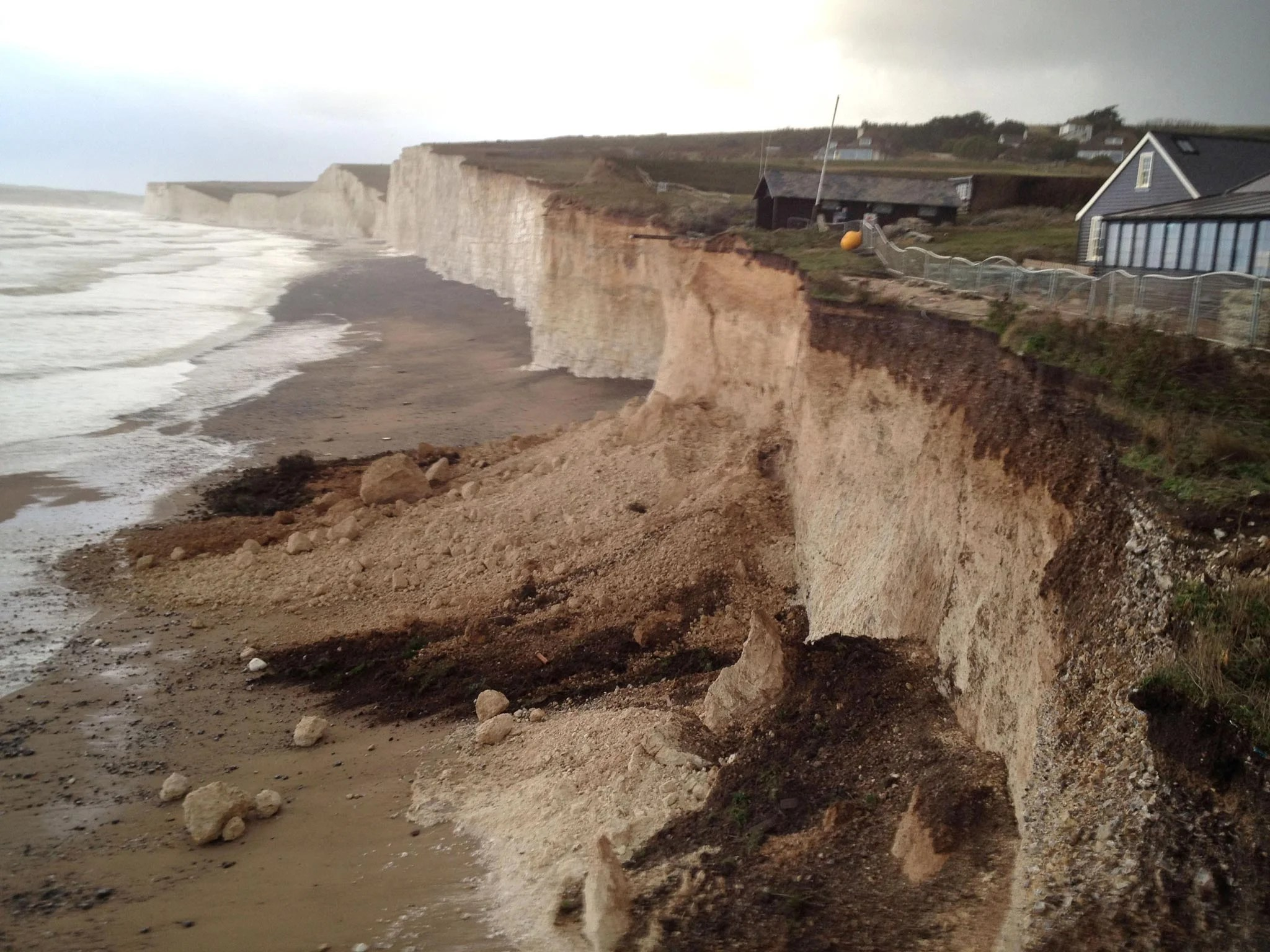 Wallpaper Falling Off Wall Uk Weather British Coasts Suffer Years Of Erosion In