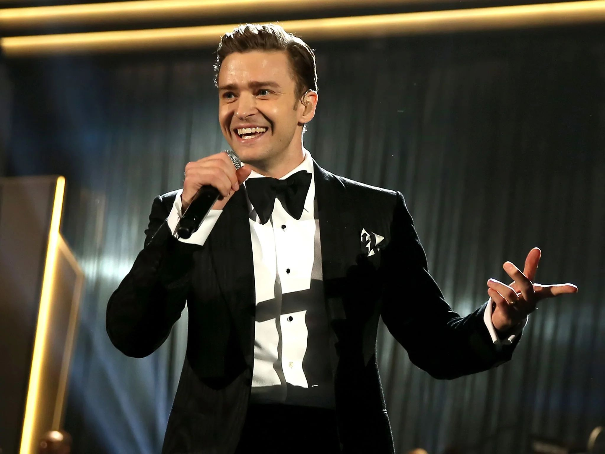 Justin timberlake performing new song can t stop the feeling at eurovision the independent