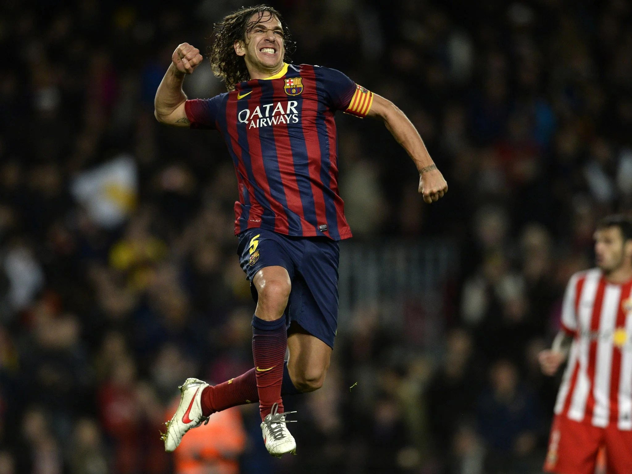 Wwe Logo Hd Wallpaper Carles Puyol The Raggy Haired Barcelona Defender Who Even