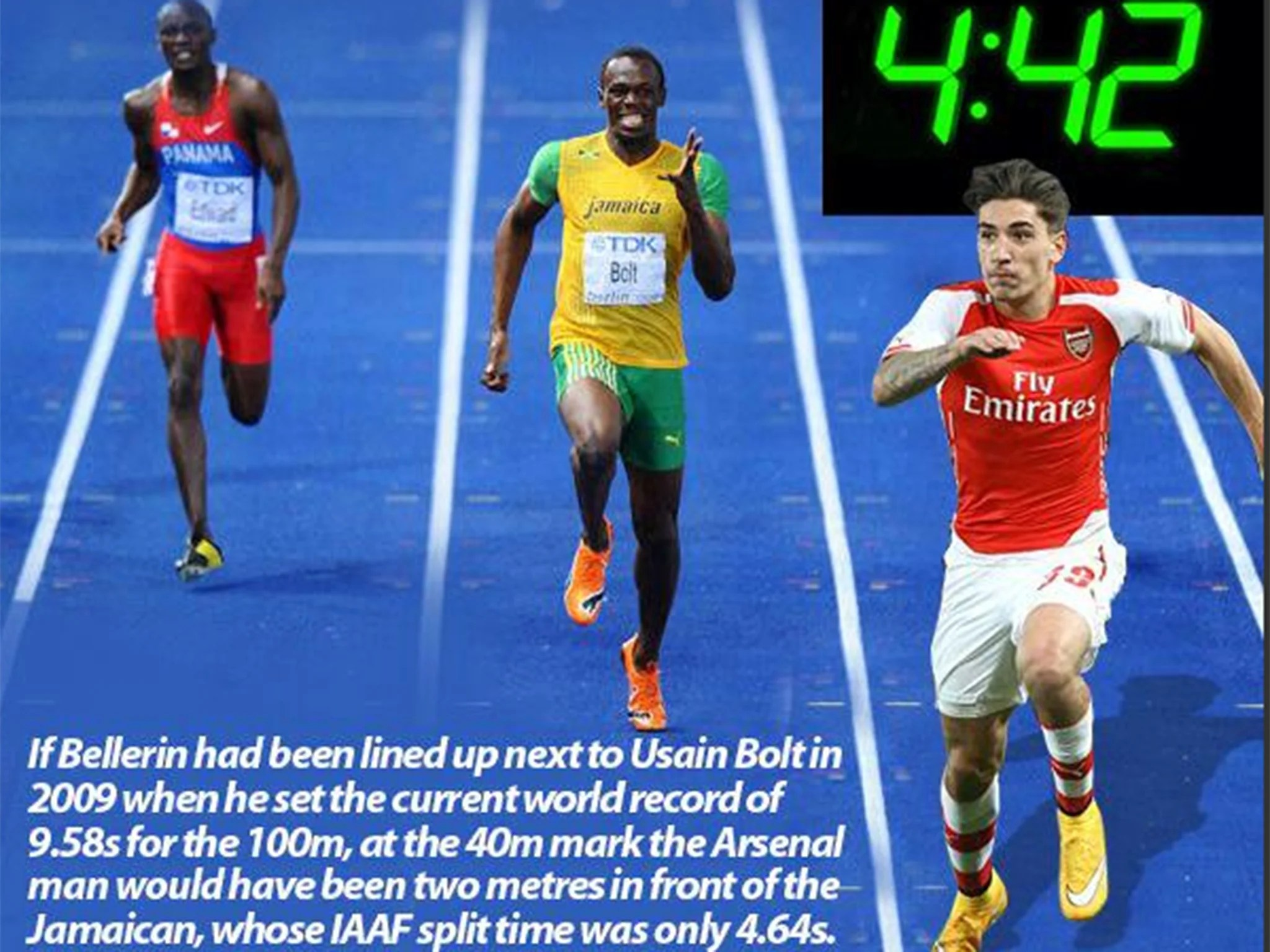 Sprint Car Wallpapers Free Hector Bellerin Is Faster Than Sprint King Usain Bolt