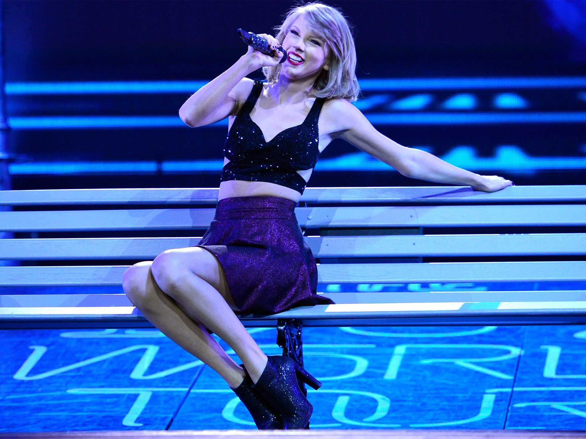 Taylor Swift 1989 Quotes Wallpaper Taylor Swift Reveals Scottish Heritage At Packed Glasgow