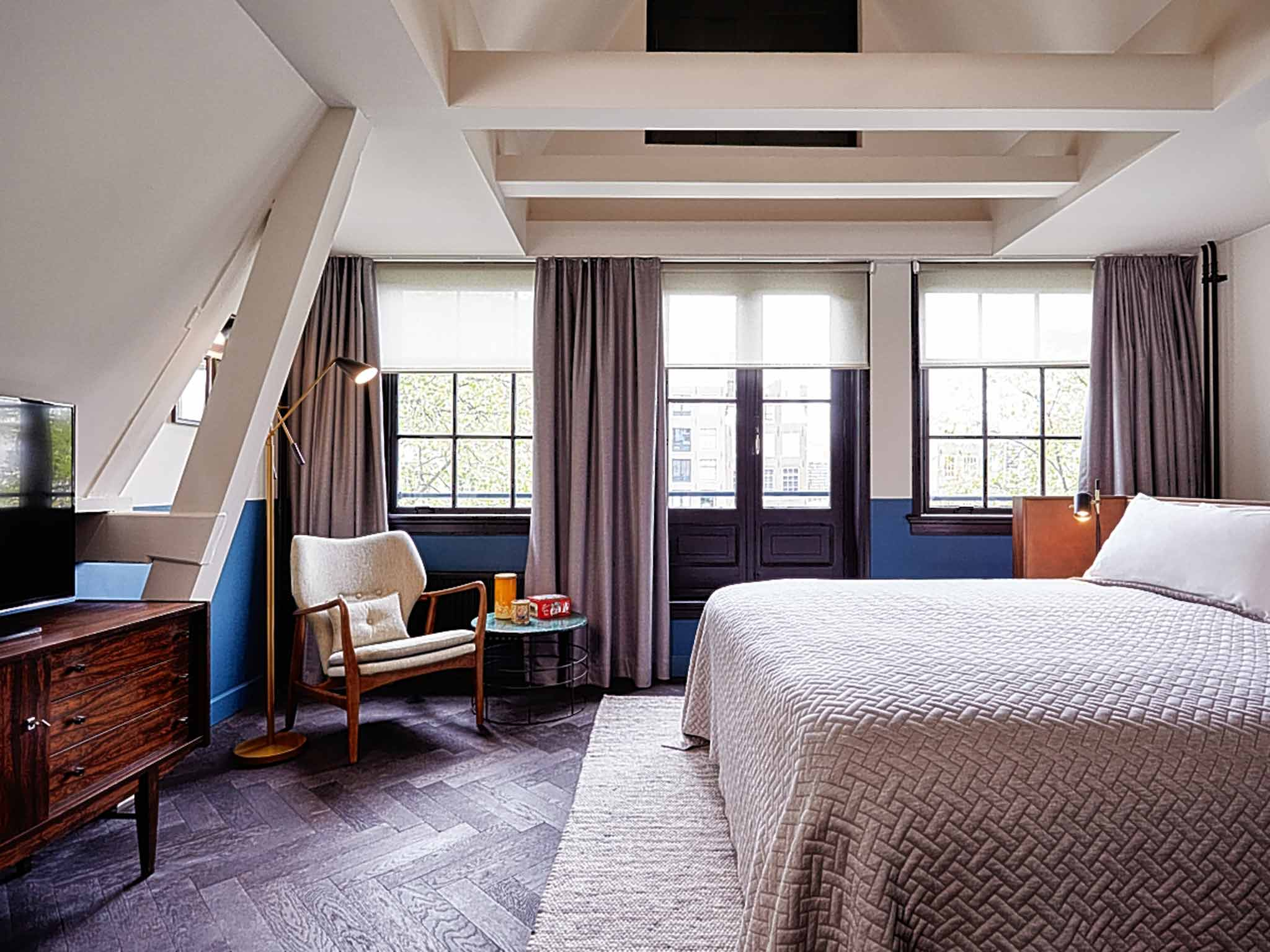 Hotel Hoxton Amsterdam The Hoxton, Amsterdam: Hip Canal Houses That Make All The