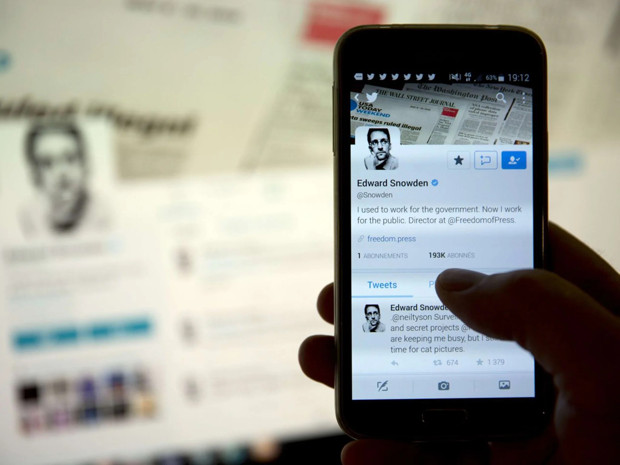 Iphone 6 Sans Abonnement Edward Snowden Smartphone Users Can Do Very Little To Stop