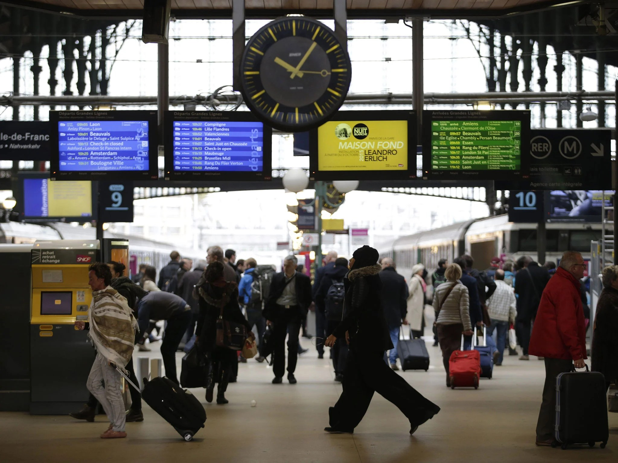 Ashford Paris Paris Train Station Evacuated After Second World War Shell Found